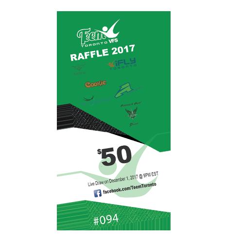 Teem VFS Raffle Ticket